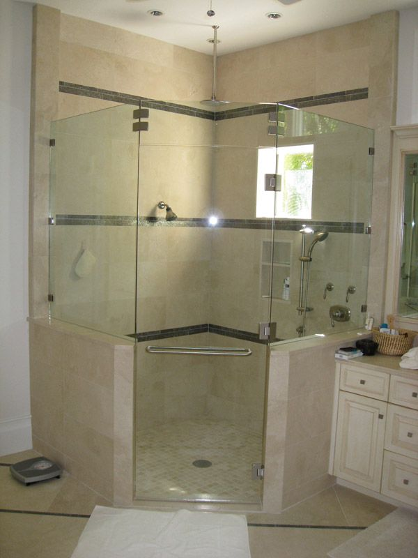 Seamless shower walls